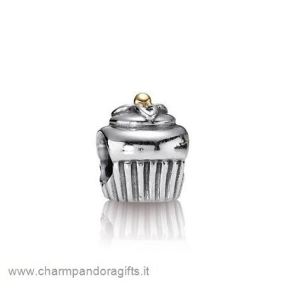 Pandora Vendita Online Compleanno Charms Cupcake Charm